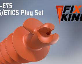 E35-E75 EIFS Insulent Plug Set by FIXKING 3D print model
