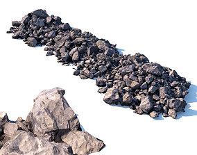 3D model Stone mound