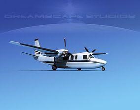 Rockwell Turbo Commander 690 V11 3D