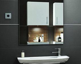 Washbasin bath 3D