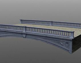 Canal bridge 3D model VR / AR ready