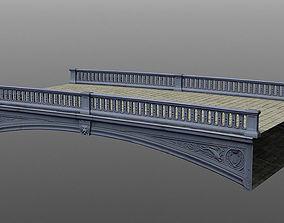 3D asset Canal bridge