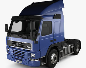 3D Volvo FM12 420 Sleeper Cab Tractor Truck 1998