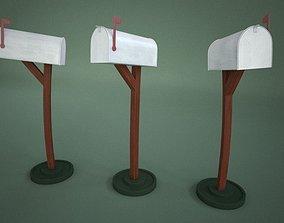 Mailbox Cartoon 3D