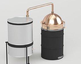 machine Brewery Tank 3D