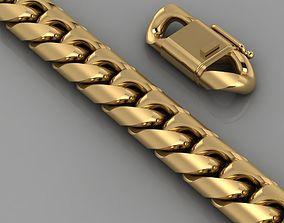 silver bracelet 3D printable model