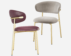 Calligaris Oleandro Dining Chair 3D model