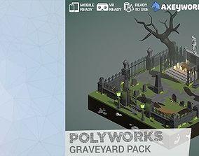 3D model PolyWorks Graveyard Pack