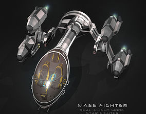 3D model Mass Fighter