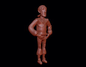 Otis - Secret of Monkey Island 3D model