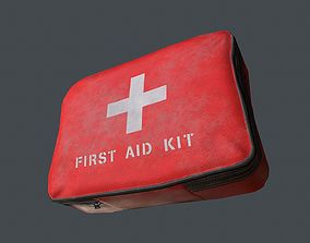 First Aid Kit 3D model game-ready