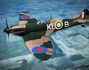 SUPERMARINE SPITFIRE MK IA 54th Squadron 3D model