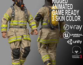 3D asset Firefighters