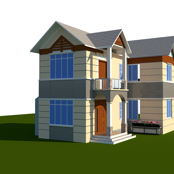 Nice Villa model