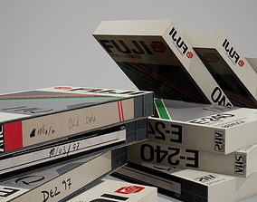 VHS tape 3D asset game-ready