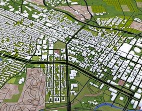 3D model Richmond City USA