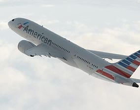 3D model Boeing 787 Dreamliner American Airlines aircraft