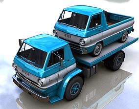 3D model DODGE L700 TRUCK 1966