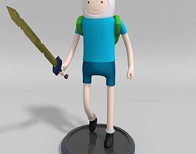 Adventure Time Finn the human 3D