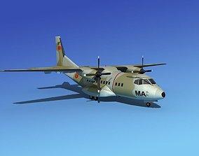 Casa CN-235 Royal Morroccan Air Force 3D model