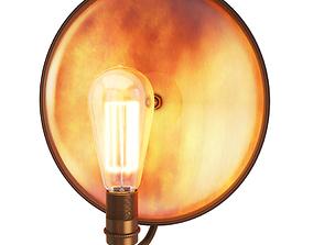 3D Cullen Industrial Wall Light Mullan