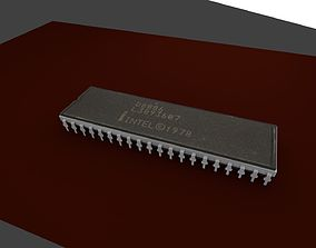 realtime Intel-8086 MicroProcessor Vintage Model CPU