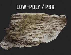 3D asset Rock cliff Scan