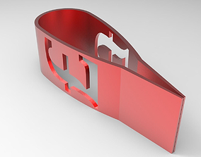 Pound Money Clip 3D printable model