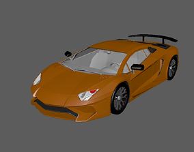3D model of Lamborginhi