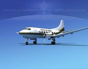 3D Martin 404 Brown Air Service