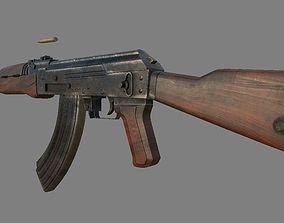 gun AK-47 3D