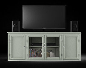 3D model Yosef Corner TV Stand