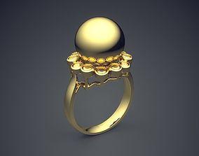 Engagement Ring CAD-5854 3D print model