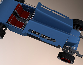 3D asset Hot Rod