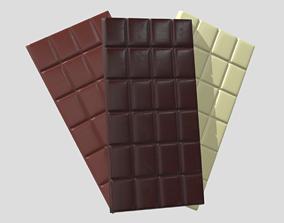 3D asset Chocolate Bars