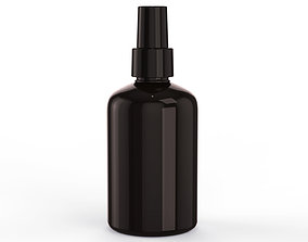 Cosmetic Container 02 Medium Size 3D