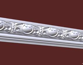 3D printable model Decor stripe molding