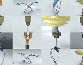 Lamp Collection 3D model
