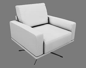 Armchair UP 3D model classic sofa