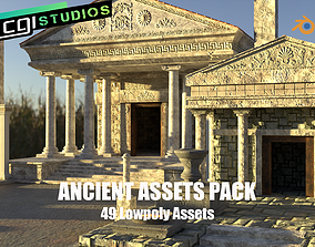 Ancient Assets Pack game-ready
