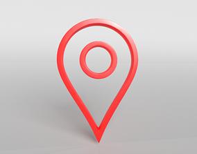 3D model Map Tag v1 003