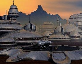 Alpha Landing Station 3D model