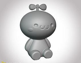 Cute moneybox 3D print model