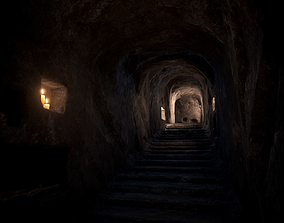 3D asset Ancient Catacombs
