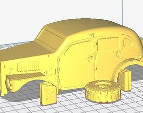 Volvo Sugga Body Car Printable 3D