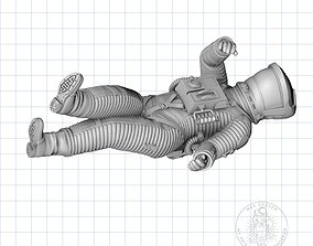 Death 2001 Astronaut 3D printable model moebius