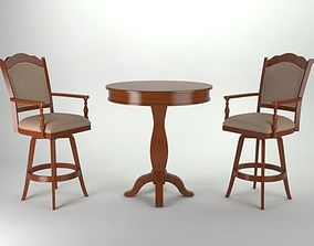 Table And Chair 3D printable model