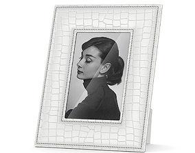 White skin picture frame 3D model
