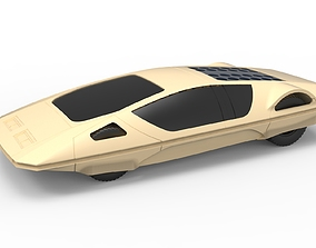 Diecast model Concept car 1970 Scale 1 to 24