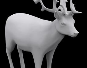 Reindeer 3D print model reindeer